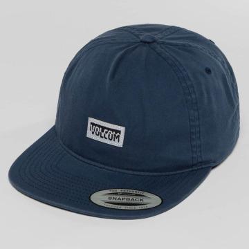 Volcom Snapback Cap Fracture blau