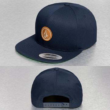 Volcom Snapback Cap Quarter blue