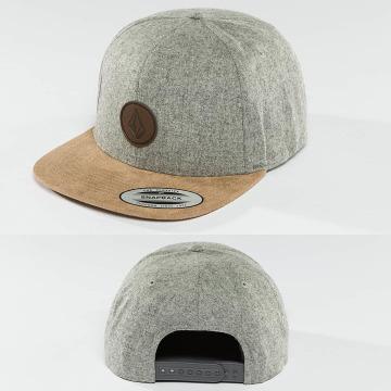 Volcom Snapback Cap Quarter grau