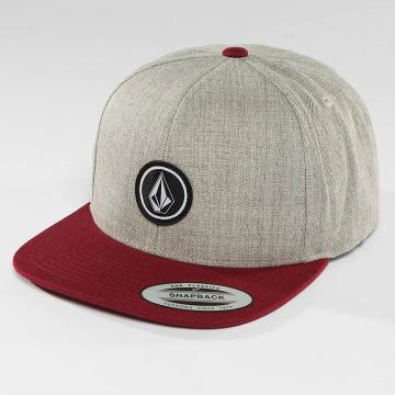 Volcom snapback cap Quarter grijs