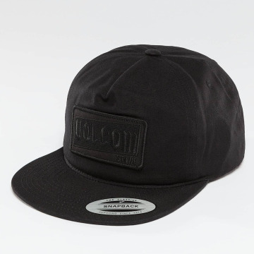 Volcom Snapback Cap Rotor schwarz
