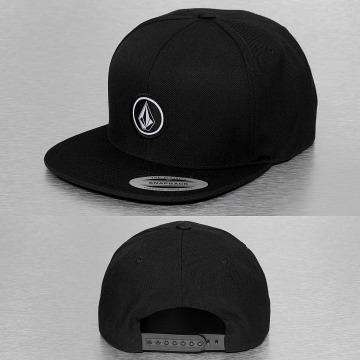 Volcom Snapback Caps Quarter svart