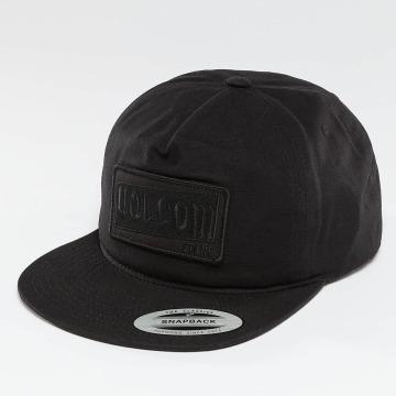Volcom Snapback Caps Rotor svart