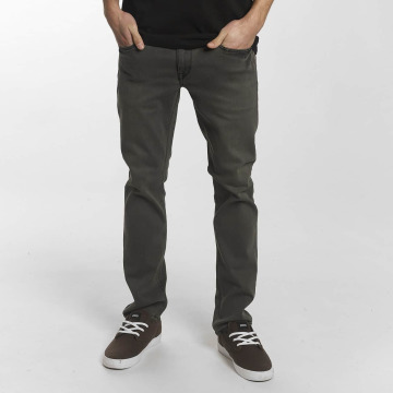 Volcom Straight Fit Jeans Vorta Denim gray