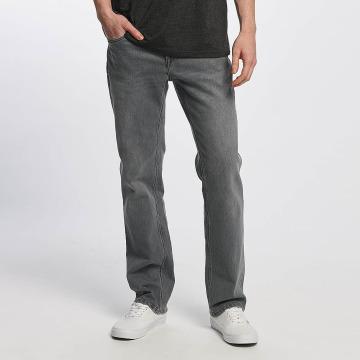 Volcom Straight fit jeans Solver Denim grijs