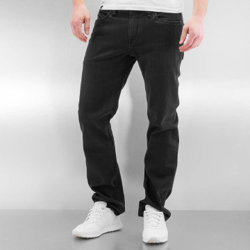 Volcom Straight Fit Jeans Solver schwarz