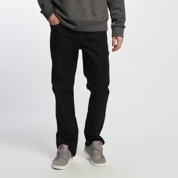 Volcom Straight fit jeans Kinkade Denim zwart