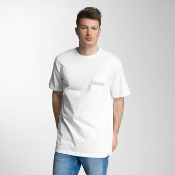 Volcom T-paidat Shred Head valkoinen