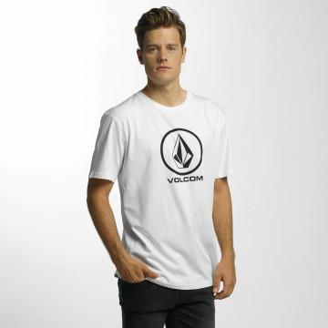Volcom T-paidat Circle Stone Basic valkoinen