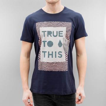 Volcom T-Shirt True To This blau