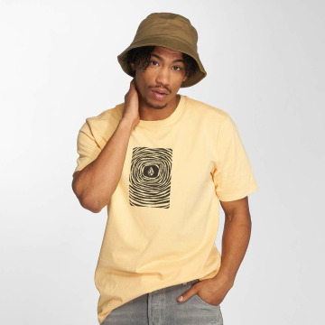 Volcom t-shirt Engulf geel