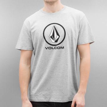 Volcom T-Shirt Circlestone Basic grau