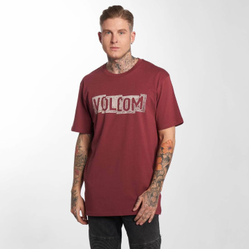 Volcom T-Shirt Edge Basic rot