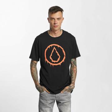Volcom t-shirt Sludgestone Basic zwart