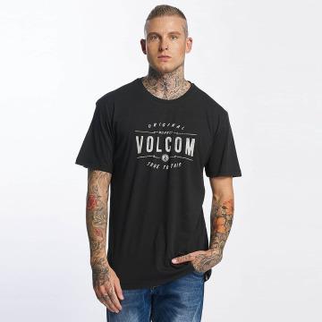 Volcom t-shirt Garage Club zwart
