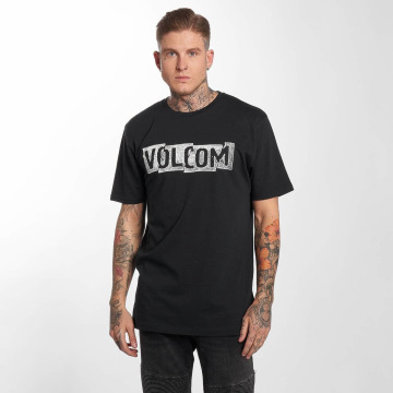 Volcom T-Shirty Edge Basic czarny