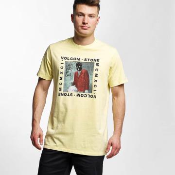 Volcom T-skjorter Scarro gul