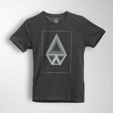 Volcom T-skjorter Concentric Hth svart