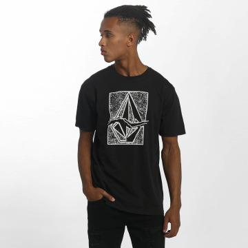 Volcom T-skjorter Rip Stone svart