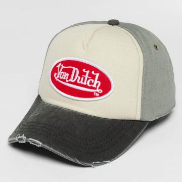 Von Dutch Snapback Cap Velcro grau