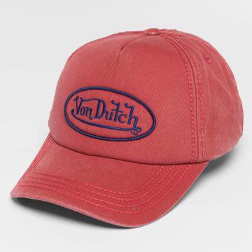 Von Dutch Snapback Cap Strapback red