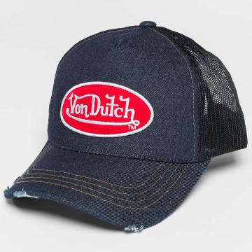 Von Dutch Trucker Cap Destroyed blu