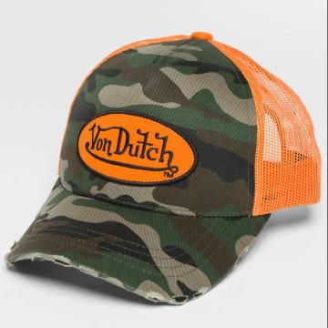 Von Dutch Trucker Cap Camo mimetico