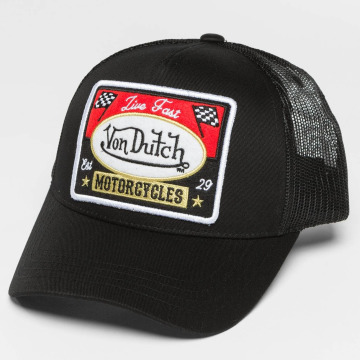 Von Dutch Trucker Caps Motor čern