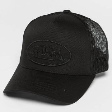 Von Dutch Trucker Caps Classic čern