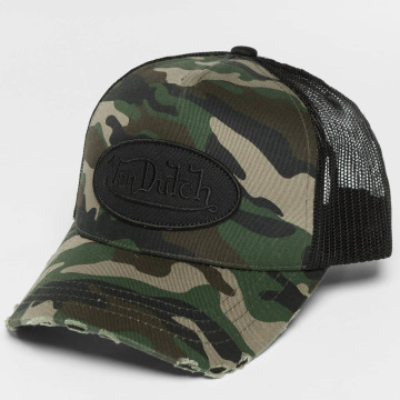 Von Dutch Trucker Caps Camo kamuflasje