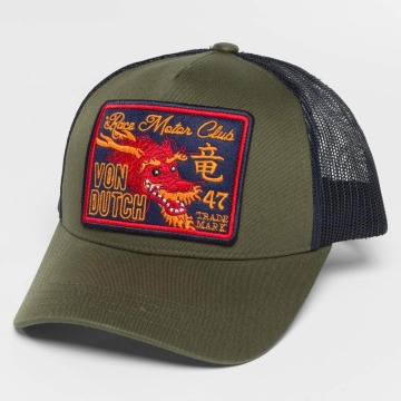 Von Dutch Trucker Caps Trucker olivový