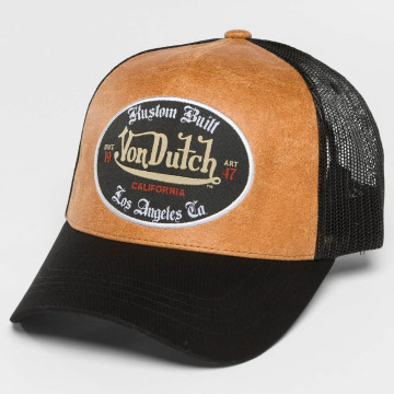 Von Dutch Trucker Caps California svart