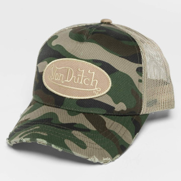 Von Dutch Truckerkeps Trucker kamouflage