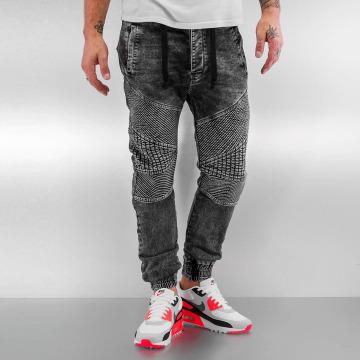 VSCT Clubwear Úzke/Streč Neo Cuffed šedá