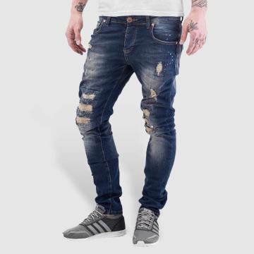 VSCT Clubwear Úzke/Streč Alec Slim 5 Pocket modrá