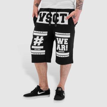VSCT Clubwear Šortky Logo Hashtag èierna