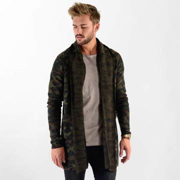 VSCT Clubwear Кардиган Open Knit камуфляж