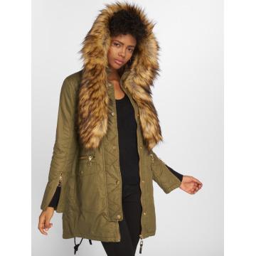 VSCT Clubwear Пальто Coated оливковый