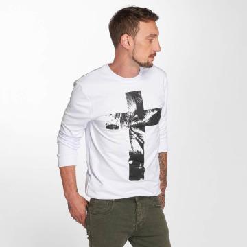VSCT Clubwear Пуловер Cross Palm Loose белый