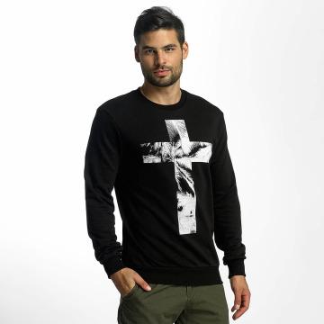 VSCT Clubwear Пуловер Cross Palm Loose черный