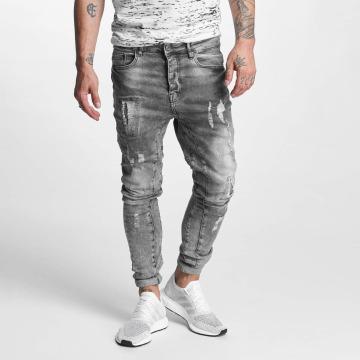 VSCT Clubwear Antifit Chase 5 Pocket Denim šedá
