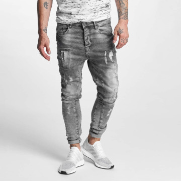 VSCT Clubwear Antifit Chase 5 Pocket Denim серый