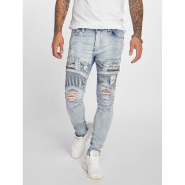 VSCT Clubwear Antifit New Liam Biker Denim azul