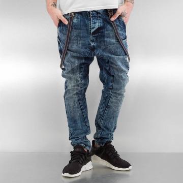 VSCT Clubwear Antifit Brad Slim with Supspenders blauw