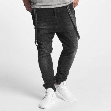 VSCT Clubwear Antifit-farkut Brad Black Denim musta