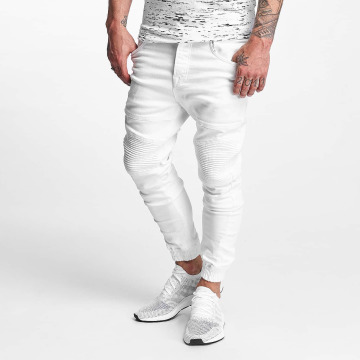VSCT Clubwear Antifit-farkut Noah valkoinen
