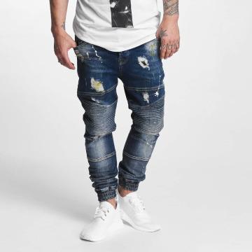 VSCT Clubwear Antifit jeans Noah Biker blå