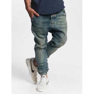 VSCT Clubwear Antifit Noel Cuffed Jogg Bleached modrá
