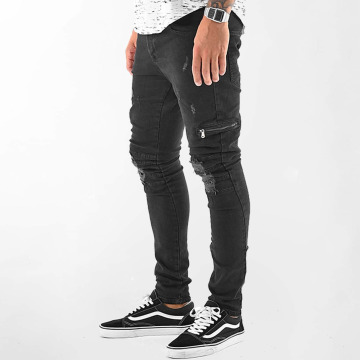VSCT Clubwear Cargohose Thor Biker schwarz