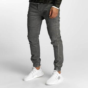 VSCT Clubwear Chinot/Kangashousut Noah Biker harmaa